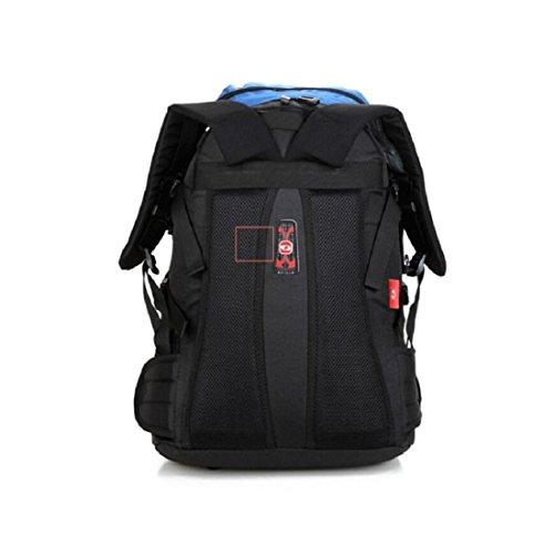 Z&N Alta Qualità Nylon 40L Capacità Outdoor Sport Alpinismo Arrampicata Su Roccia Zaino Da Campeggio Sacco A Pelo Per Escursionismo Borsa A Tracolla Zaino Multifunzionale Unisex A 40L H