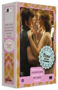 Flow Retro 5-DVD Filmbox ( Bride Flight / An Education / Nowhere Boy / Big Night / Amélie ) [ Holländische Import ]