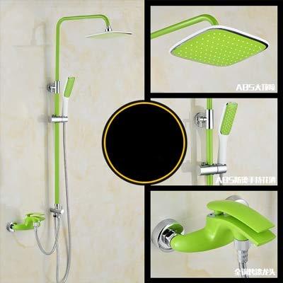 Bathroom Luxury colourful shower set mixer with bidet shower black shower set bathroom Shower faucet Bathtub Faucet Sets,Green - Classic Bidet Set