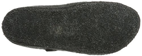 Haflinger Walktoffel Geo, Chaussons Mules mixte adulte Anthracite