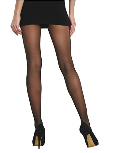 b0b3a18d7d7 Charnos Hosiery Womens 15 Denier 3 Pack 24-7 Sheer Tights size Medium in  Black