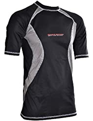 Sher-Wood 3M Adults 'Short Sleeved Shirt Senior Quick-Dry Loose Fit