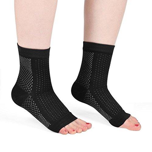 pilaaidou fascitis Plantar calcetines, fascitis Plantar pie apoyo, foot Care–Medias de compresión funda aumenta la circulación sanguínea para dolor pies, arco y talón alivio del dolor
