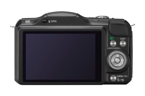 Panasonic DMC-GF5KAEGK Lumix Systemkamera (12 Megapixel, 7,5 cm (3 Zoll) LCD, Touchscreen, Full-HD, AVCHD) inkl. H-FS1442AE-K Lumix Vario Objektiv schwarz - 3