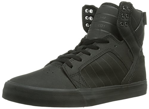Supra Skytop, Baskets mode homme Noir (Black/Black/White)