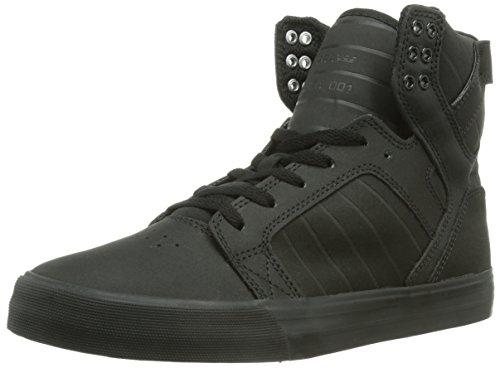Supra - SKYTOP, alte scarpe da ginnastica unisex, color Nero (BLACK - BLACK   BLK), talla 42