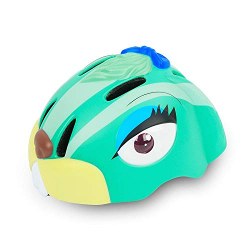 YAJAN-helmet Kinder Multi-Sport Fahrradhelm,Jungen und Mädchen Karikatur Einstellbar Schutzhelm Passend für Skating Skateboard BMX Roller Radfahren