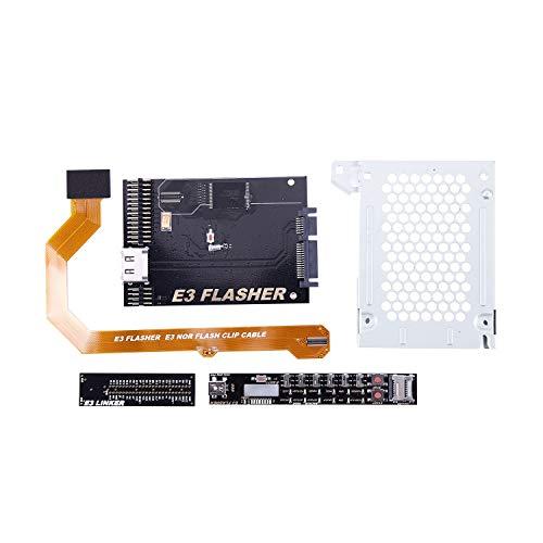 SODIAL Neu E3 Nor Flasher E3 Taschen Buch Downgrade Werkzeug Kit Für Flash Konsole E3-kit