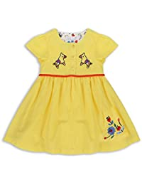 The Essential One - Bebé Infantil Niñas Vestido - Amarillo - EOT389