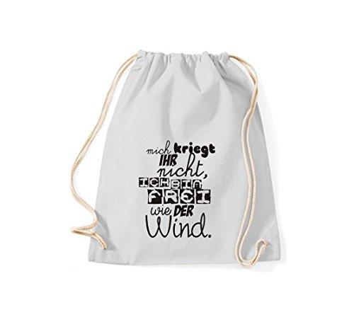 Shirtstown sac magnifique cadran kriegt votre inscription en allemand'ich bin pas librement comme le vent, plusieurs couleurs gris clair