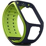 TomTom Bracelet de Montre Vert / Bleu marine - Taille Large (ref 9URE.001.00)