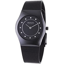 BERING Time Damen-Armbanduhr Slim Ceramic 32030-446