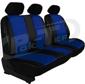 Sitzbezüge Schonbezüge SET KA Citroen Jumpy Stoff blau