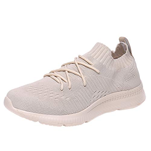 KERULA Men Sneaker,Paar LäSsig Atmungsaktiv Leichte Sportschuhe Gewebt Mesh Socken Turnschuhe Unisex Fashion Low-Top Elastische Sneakers Basketballschuhe Terrain Stiefel