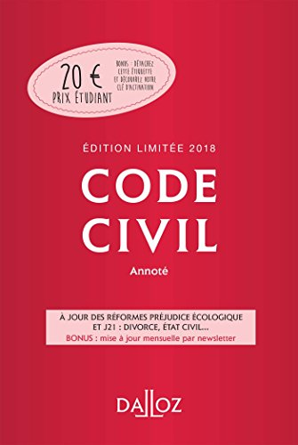 Code civil annoté par Collectif