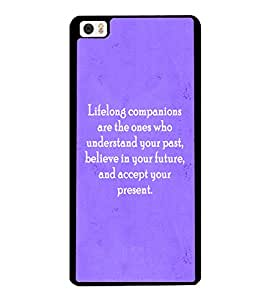 Fuson 2D Printed Quotes Designer back case cover for Xiaomi Mi 5 - D4589