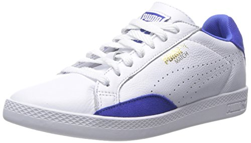 Puma Spiel Lo Grund Sport Sportstyle Sneaker White/Dazzling Blue