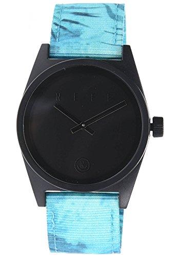 neff-mens-daily-woven-watch-palms-black