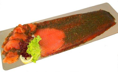 Marquart Feinkost - Premium Graved Lachs, geschnitten - 1000 g -