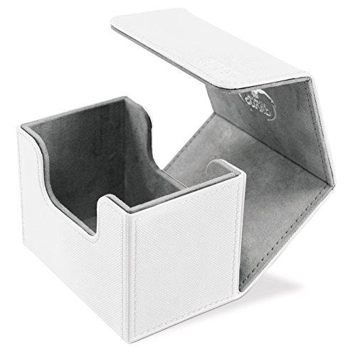 Ultimate Guard UGD010746 - SideWinder, 80 plus, Standardgröße, XenoSkin, weiß (Card Box Weiß Deck)