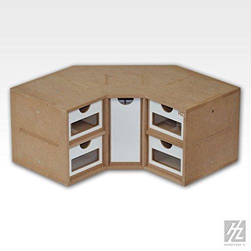 Hobbyzone Eck Schubladen Modul (Corner Drawers Module) MWS HZ-OM03