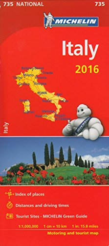 Italy 2016 National Maps 735 2016