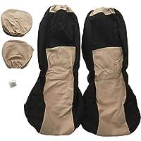 4 unids/set coche asiento de esponja cubierta del asiento delantero de reemplazo de car