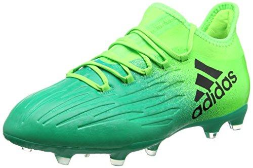 adidas X 16.2FG Herren Fußballschuh, grün–(Versol/negbas/Vol) 40