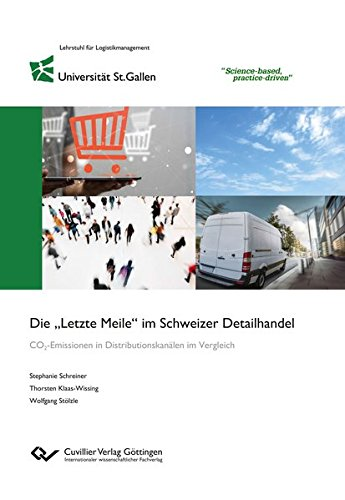 """Die """"Letzte Meile"""" im Schweizer Detailhandel: CO2-Emissionen in Distributionskanälen im Vergleich"""