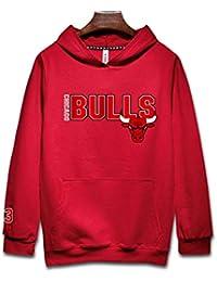 Chicago Bulls Sudadera con capucha Hombres Jóvenes Name & Number Jordan 23# Deportes Baloncesto Moda