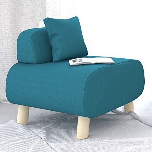 Oevina Liege Lazy Sofa Single Cloth Kleines Sofa Casual Hocker Einfacher moderner Lazy Chair (Color : B)