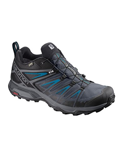 Salomon Herren X Ultra 3 Gtx Kletterschuhe Mehrfarbig (Black/india Ink/hawaiian)
