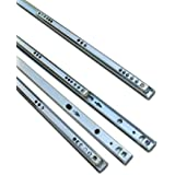 5 Pairs Metal Ball Bearing Drawer runner Pr 278mm draw depth for 17mm by GTV