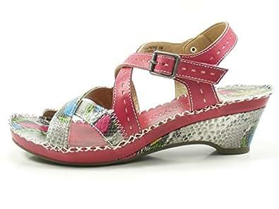 Laura Vita CX9901 08 8 Daphne 08 CX9901 Schuhe Damen Keil Sandalen Sandaletten ... 6e9e98