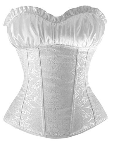 Kranchungel C601 Damen Renaissance Korsett Mieder Corsage Dessous Plus Size XX-Large (Renaissance Damen Plus Kostüme Size)