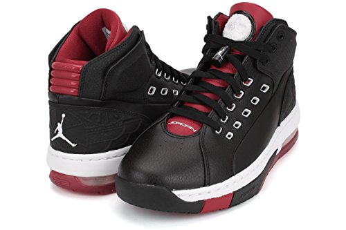 Ol école Mens Style: 317223-104 Taille: 8 M-nous BLACK/WHITE-GYM RED