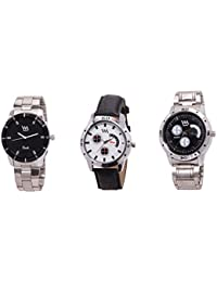 Watch Me Gift Combo Set Of Analog Watches For Men And Boys AWC-010-AWC-011-AWC-013 AWC-010-AWC-011-AWC-013omtbg