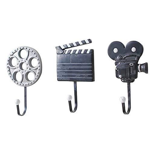 Gancho De Pared 3 Piezas De Equipos De Cine Creative