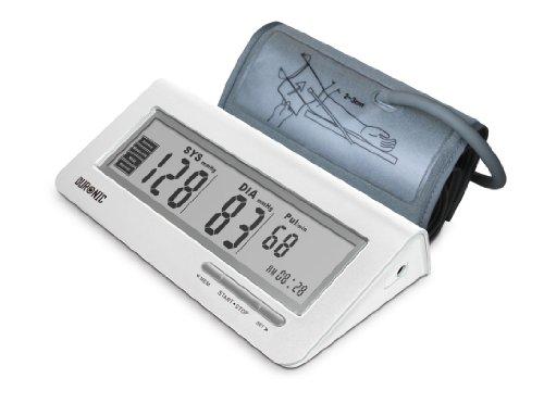 Duronic BPM400 Elektronisches Oberarm Blutdruckmessgerät mit einstellbarer Manschette 22-42 cm – Automatische Blutdruckmessung – Medizinisch zertifiziert – Großer LCD Bildschirm