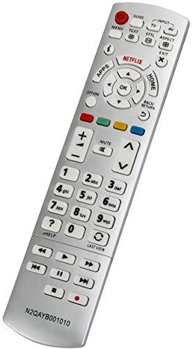 ALLIMITY N2QAYB001010 Fernbedienung Ersetzt für Panasonic Viera TX-32CS600E TX-32DS600E TX-40CX680E TX-40CXE720 TX-32DS500E TX-40CX670E TX-40CX700E TX-40DS630E TX-40DX700E TX-40CS630E