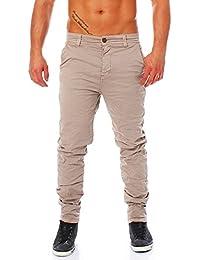URBAN SURFACE stylische Herren Chino Cargohose aus 98 % iger Baumwolle aus der aktuellen Kollektion 2017 / VA 793