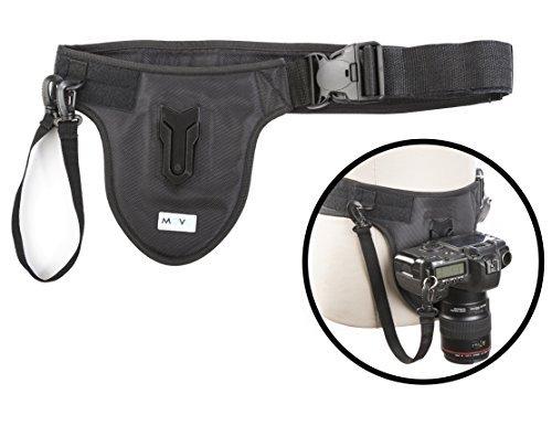 Movo Foto MB600 Universal Kamera Gürtelhaltersyste mfür DSLR & Spiegellose Kameras -