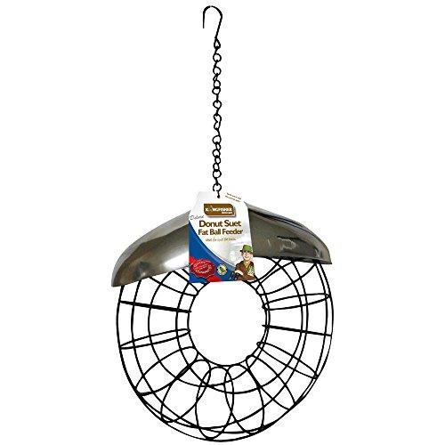 Kingfisher Futterstation für Fett-/Meisenknödel in Donut-Form -