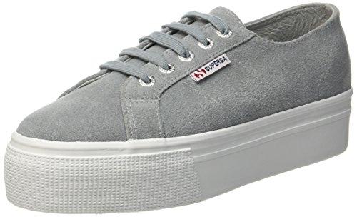 Superga Damen 2790-Suew Sneaker Grau (Lt Grey 506)
