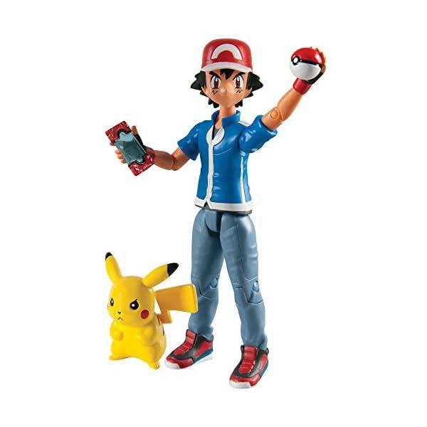 Pokemon Pack de 2 Figuras Ash & Pikachu 1