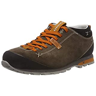 AKU Men's Bellamont 2 Suede Gt Low Rise Hiking Shoes, Beige/Orange 184 11 UK