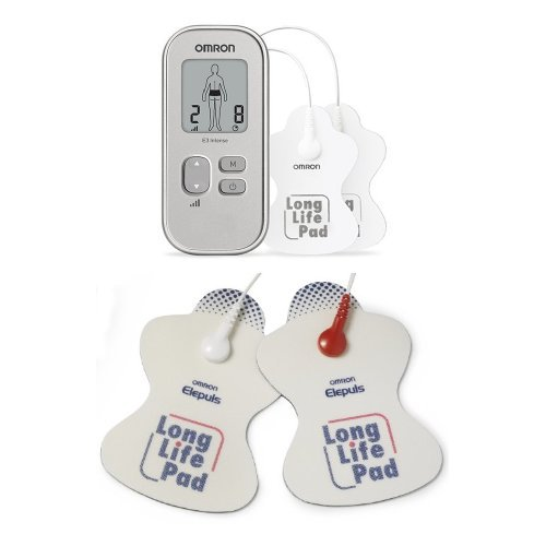 Omron Schmerztherapiegerät E3 Intense / Omron Long Life Elektroden