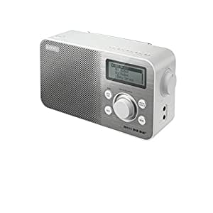 sony xdrs60 dab dab fm compact retro style digital radio white tv. Black Bedroom Furniture Sets. Home Design Ideas