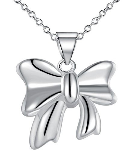 SaySure - Silver 925 cute Bow