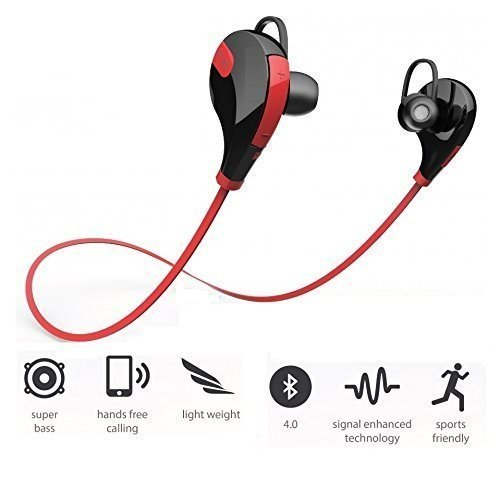 Xperia XA1 Compatible Wireless Bluetooth Bluetooth 4.1 Wireless Stereo Sport Headphones Headset Running Jogger Hiking Gym Exercise Sweatproof Earphones With AptX Hi-Fi Sound Hands-free Calling Built-in Mic For IPhone Samsung Galaxy IOS Windows Android Sma